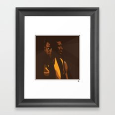 Cyril Framed Art Print