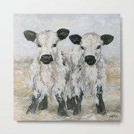 Freckles and Speckles Metal Print