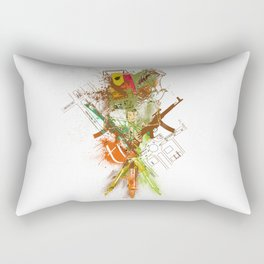 theodolite Rectangular Pillow