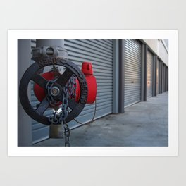 Extinguished Garage Art Print