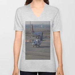 Tarom ATR 42-500 Unisex V-Neck