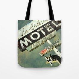 La Crescenta Vintage Motel Sign Tote Bag