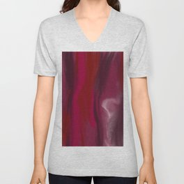 Abstract #4 Unisex V-Neck