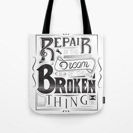 Broken Shirt Tote Bag