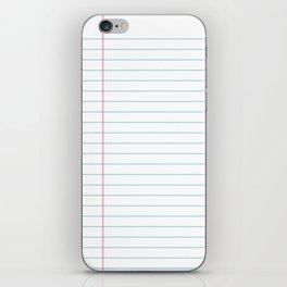 Notepaper iPhone Skin