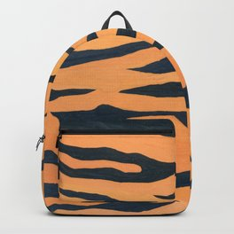 wild animals: tiger pattern Backpack