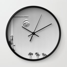 Silver Lake Ball Wall Clock