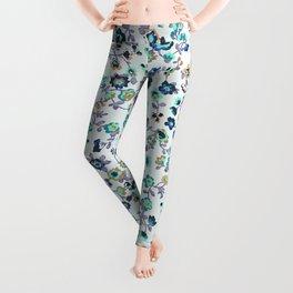 Greenapple Floral Print Leggings