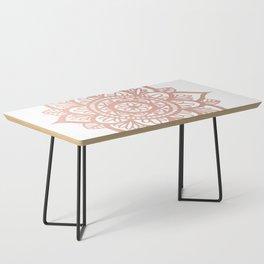 New Rose Gold Mandala Coffee Table