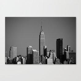 New York City Skyline 2012 Canvas Print
