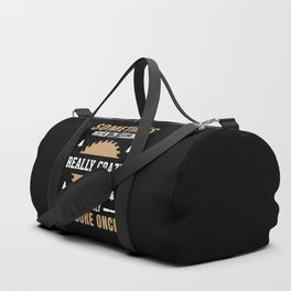 Funny Woodworking Quote Duffle Bag