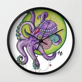 Deep Sea Treasure Wall Clock