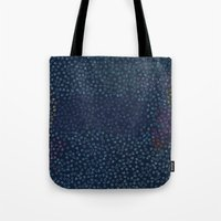 constellations Tote Bags featuring Constellations by datavis/pwowk