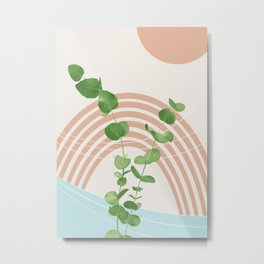 Eucalyptus Rainbow Oasis #1 #tropical #wall #art #society6 Metal Print