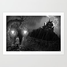 Out of the Storm Art Print