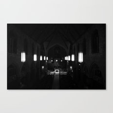 Night prayer Canvas Print