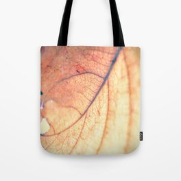 Abstract Leaf 3 Tote Bag