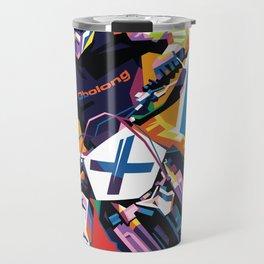 Motocross - Push Over The Limit #2 Travel Mug