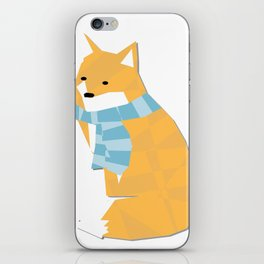 Cozy Fox iPhone Skin