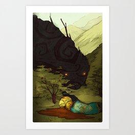 the turnip princess Art Print