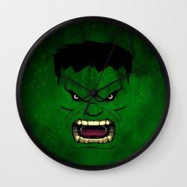 Monster Green Wall Clock
