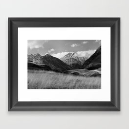 The Ice Cream Mountain Framed Art Print