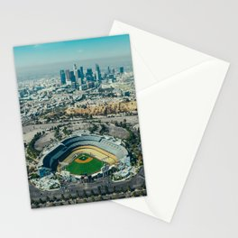 Dodger Stadium Stationery Cards