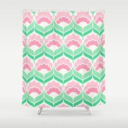 Mavis Mint Shower Curtain