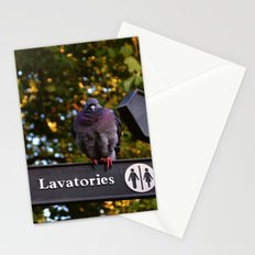 Pigeons in London   Stationery Cards