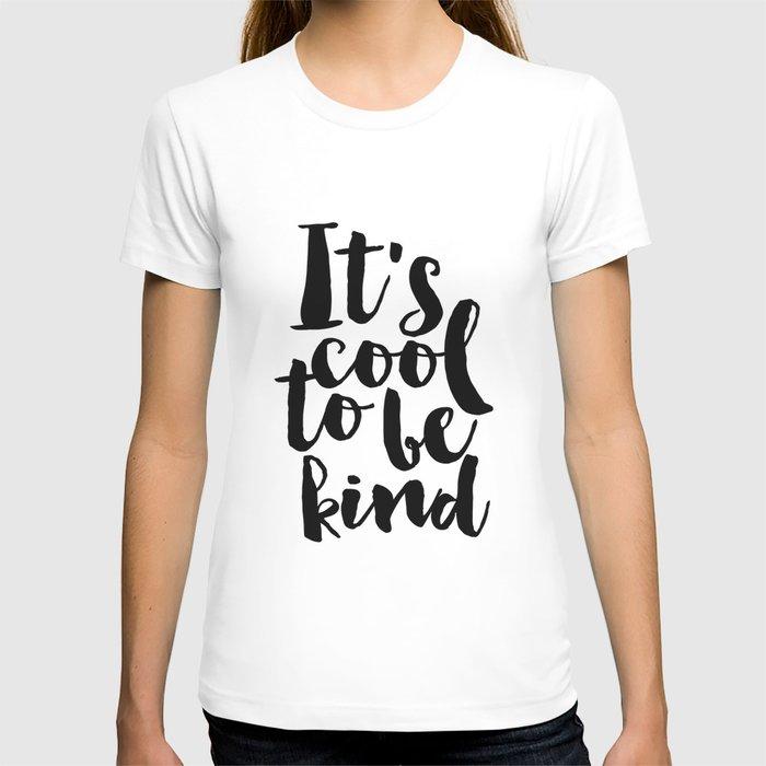 Be kind Be Brave Kids Gift Nursery Print Nursery Wall Art Children Print Typography Print T-shirt