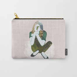 Zen girl illustration/collage Carry-All Pouch