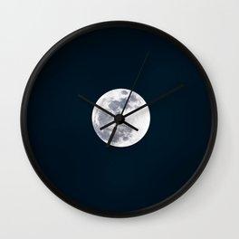 At the Moonlight Wall Clock