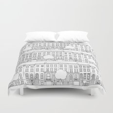 blocks of Brooklyn Duvet Cover