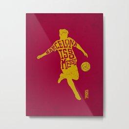 Barcelona is so Messi (variant) Metal Print