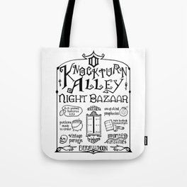 Knockturn Alley Night Bazaar Tote Bag
