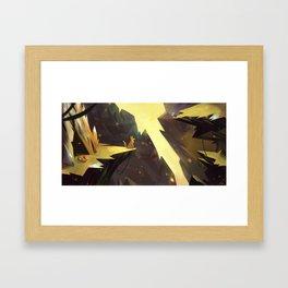 Renards Framed Art Print