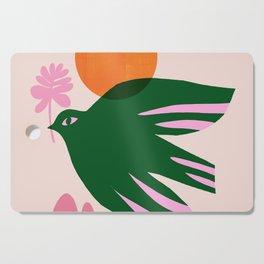 Abstraction_BIRD_SUN_Beautiful_Day_Minimalism_001 Cutting Board