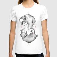 rat T-shirts featuring Rat King by Henri Scribner