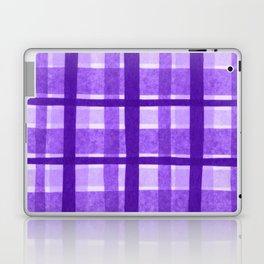 Tissue Paper Plaid - Purple Laptop & iPad Skin