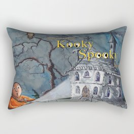 Marvin in the Kooky Spooky House Rectangular Pillow