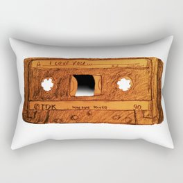I love you Mixtape Rectangular Pillow