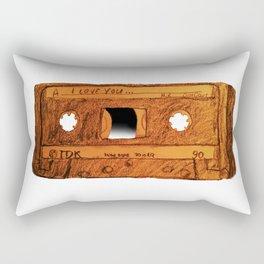 I love you Mixtape Rectangular Pillow