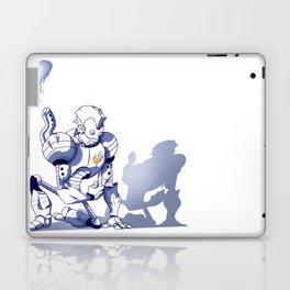 Flower-bot Laptop & iPad Skin