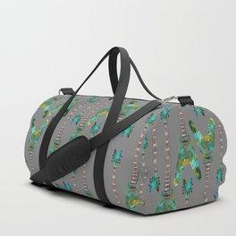 Guitar 1 Pattern - Dark Duffle Bag