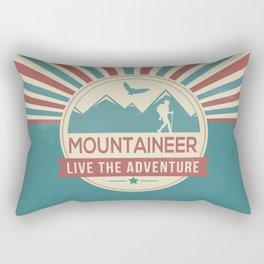 Retro Love Rectangular Pillow