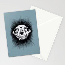 Cat Skull Stationery Cards