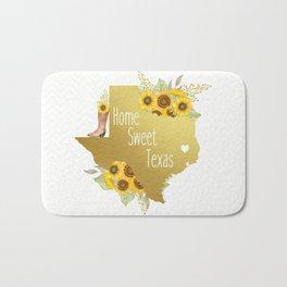 Home Sweet Texas Bath Mat