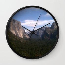 Yosemite National Park jGibney The MUSEUM Gifts Wall Clock