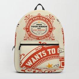 Wash your Hands - Logo Backpack