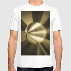 Sol Adentro, obscuro Mens Fitted Tee White MEDIUM